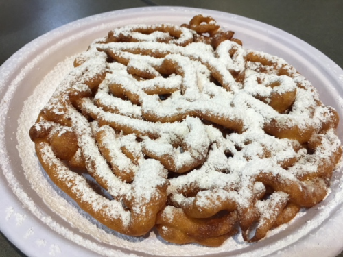 Gluten Free Funnel Cake Fox and Sons